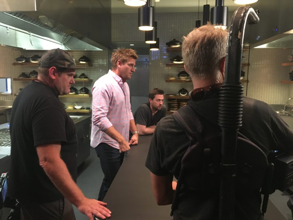 On the road with Curtis Stone and Crew Dennis Jensen Sound Mixer San Francisco